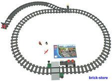 LEGO® Eisenbahn (60051) Schienenkreis mit Weiche/Rechts Prellbock und Bahnhof