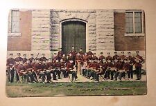 St. Catharines Ontario Canada 19th Regiment Band Military Postcard