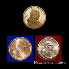 2011 P+D+S Native American Sacagawea Mint Proof Set of Three U.S. Coins