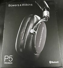 Bowers & Wilkins P5 Wireless Bluetooth Headphones (Black) BRAND NEW SEALED