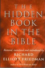 The Hidden Book in the Bible by Richard Elliott Friedman (Hardback, 1999)