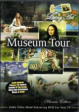 Living Art MUSEUM TOUR: VIRTUAL ART GALLERY PAINTINGS DINNER PARTY ENTERTAINING!