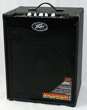 Peavey MAX 115 II Electric Bass Guitar 300-Watt Combo Amplifier