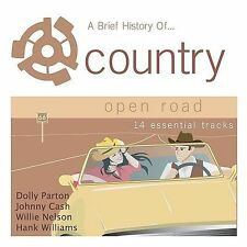 FREE US SH (int'l sh=$0-$3) NEW CD Various [Sony Bmg]: Brief History of Country