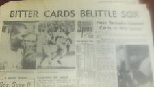 ST. LOUIS CARDINALS WIN WORLD SERIES OVER BOSTON RED SOX- OCT.13,1967 HERALDPAPR