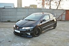 Cup Spoilerlippe Carbon HONDA CIVIC 8 VIII TYPE R Grand Prix Lippe Splitter ABS