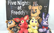 Five Nights At Freddy's FNAF Good stuff Complete set of 4 Plush Original Freddy