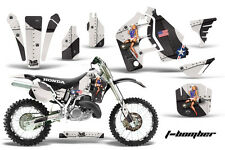 AMR Racing Honda CR500 Graphic Kit # Plates Decal Sticker Part CR 500 89-01 TBB
