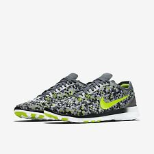Women's Nike Free 5.0 TR Fit Print Running Shoes Size 7.5