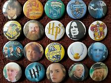 Harry Potter Button Badges x 20 (Set 3). Pins. Wholesale. Collector. Bargain :0)