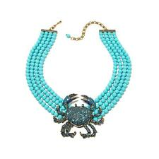 Heidi Daus Queen Crab Beaded Necklace SWAROVSKI CRYSTAL BEAUTIFULLY MAGNIFICENT!