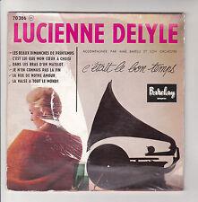 Lucienne DELYLE Vinyl 45T EP DANS LES BRAS D'UN MATELOT Gramophone 6 Titres RARE