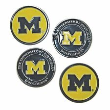 Michigan Wolverines Golf Ball Markers (Set of 4)