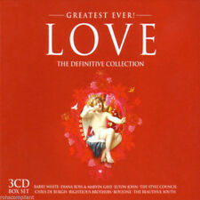 Greatest Ever Love: The Definitive Collection [Box] (CD, Jan-2010, 3 CDs) New
