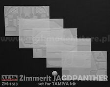 1/16 ATAK MODEL ZM-1613 ZIMMERIT for GERMAN JAGDPANTHER  - Set for Tamiya Kit
