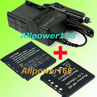 Battery + Charger for Casio EX-Z80A NP-60 NP60 CNP-60 EX-S10A EX-S10/Z80 Z9