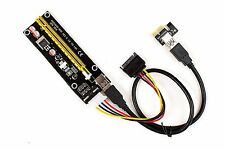 V006 PCI-E 16x to 1x Powered Riser GPU Adapter for ETH Zcash mining
