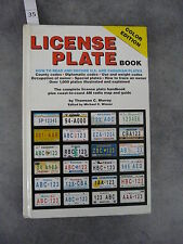 Murray Thomson C. License plate book Read US and Canadian plates Automobile