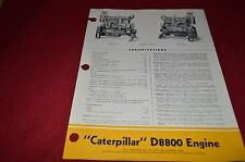 Caterpillar D8800 Engine Dealers Brochure MISC3
