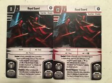x2 Royal Guard Star Wars Imperial Assault Alt Art Card Prizes From OP Events