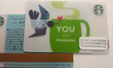 Starbucks Card 2012 Japan YOU & Starbucks Tohoku #6079 MINT