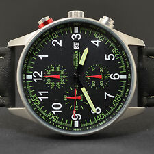 ASTROAVIA AIR CRAFT No.8L - 6 ZEIGER PROFI CHRONOGRAPH FLIEGERUHR NEU