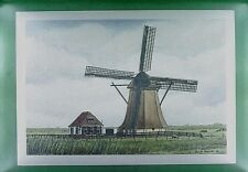 CPA Holland Workum Windmill Moulin Mill Windmühle Wiatrak Molen w308