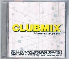CLUBMIX 24 MASSIVE HOUSE HITS! CD F.C.