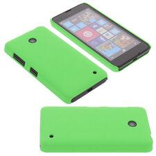 Etui pour Nokia Lumia 630 Housse Étui De Portable Cristal cristal Velours vert