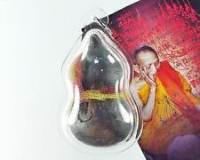Rare Old Amulet Magic Calabash Yuntra Sacred Phra Buddha LP.Kalong Wat Khaolam