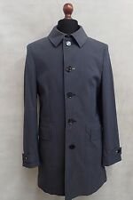 Men's Blue Oliver Sweeney Trench Coat Rain Coat Mac Size Small 38R SS8059