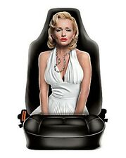 Marilyn Monroe style Car seat cover UNIVERSAL FIT microfiber life size new ITATI