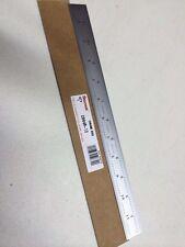 STARRETT C604R-12 Steel Rule,Spring Tempered,12 In,4R Grad (NEW!!)