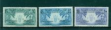 LIBYA (KINGDOM) 1959 MI. 82/84 Emblems 1st FAO Conference