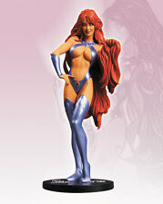 DC Direct STARFIRE COVER GIRL of UNIVERSE STATUE HUGHES NEW Maquette TEEN TITANS