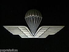 Brevetto Paracadutista Civile Metallo da Giacca Spilla Distintivo Paracadutismo
