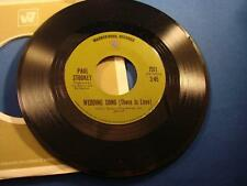 Paul Stookey Give A Damn Wedding Song (There Is Love) Warner Bros. 7511 MINT