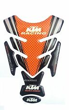 FOR KTM DUKE/RC 200/390 RACING BIKE TANK PAD NEW ORANGE TANKPA