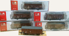 6 x RIVAROSSI DB GS Ferry Wagon - British Army branding. NEW GV6003 - HO LTD EDN