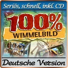 100% Prozent Wimmelbild - Hidden Objects DELUXE - Windows XP / VISTA / 7 / 8