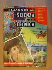 ALBUM Figurine I GRANDI DELLA SCIENZA E DELLA TECNICA 1972 ed. Dell'Arte  [P27]