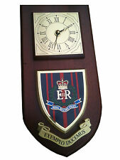 RMP Royal Military Police Shield Wall Plaque Clock Exemplo Ducemus