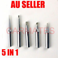 5 PCs TIPs Solder Soldering Iron Rework Station 900M-T Lead Free FOR Atten Hakko