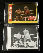 1979 Rocky II Topps Vault Proof Set #51 Apollo Creed Sylvester Stallone Movie