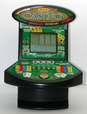 Deluxe 5 in 1 Virtual Casino Mini Arcade Machine Game Table Top Excalibur