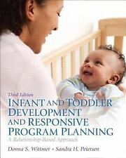 NEW Infant and Toddler Development and Responsive Program Planning: A Relationsh