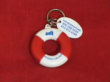 Life Ring Key Ring from Defunct Regency Cruises - Nautiques sHiPs Worldwide