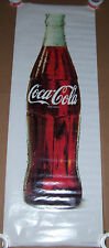 "LARGE 1988 COCA COLA BOTTLE POSTER COKE ADVERTISING NOS 76"" X 26"""