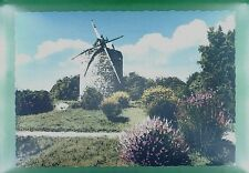 CPA France Etables sur Mer Windmill Moulin Molen Windmühle Molino Mill  w276