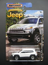 White 2014 Jeep Cherokee Trailhawk Diecast Toy Car! 2015 2016 model off road